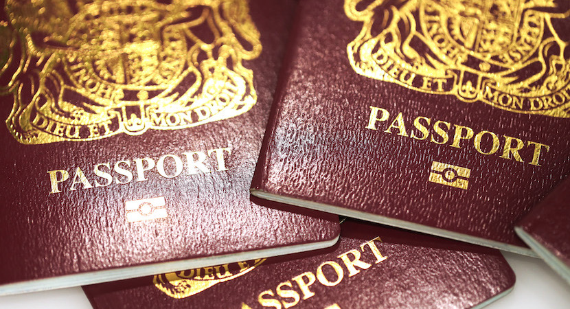 British Passports In Brexit Row