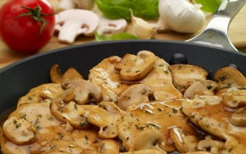 europe times european news health food Chicken Marsala Over White Rice