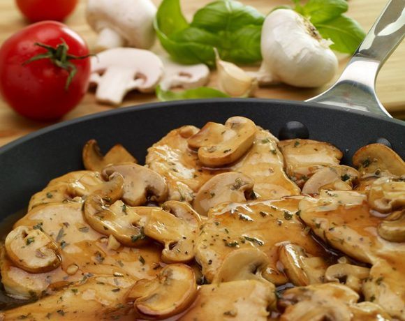 europe times european news health food Chicken Marsala Over White Rice