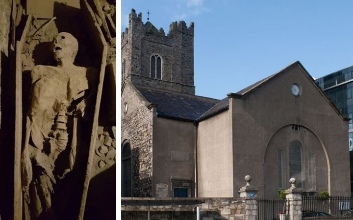 europe european world trending daily news 800-year-old 'Crusader' was found out at Dublin church 2