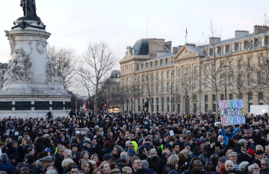 europe times european news daily trendy news Protesters rally against anti-Semitism in France