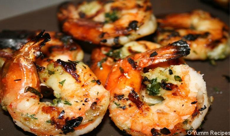 europe times european news trendy cookery cooking recipe food dishes Grilled Garlic and Herb Shrimp