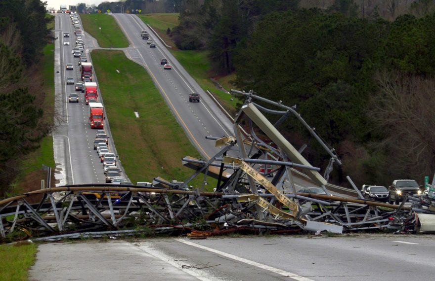 Alabama Tornadoes - At least 23 killed and many injured 2