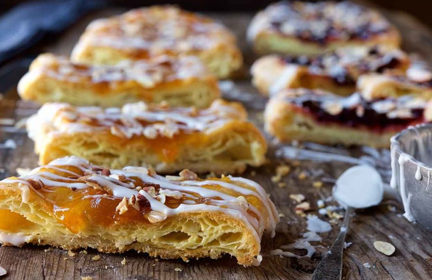 europe european world trending food recipes Elegant and Tasty Danish Almond Puff