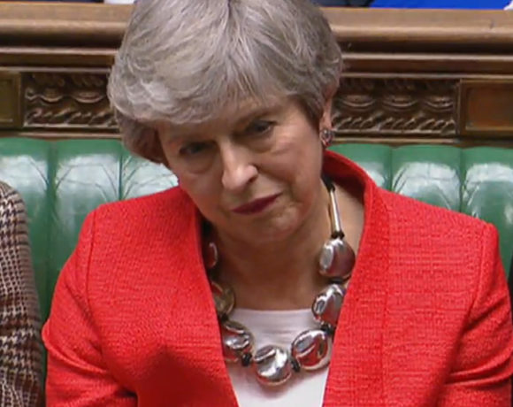 British MPs to vote on PM May's amended Brexit deal, London, United Kingdom - 12 Mar 2019