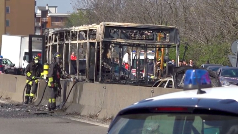europe times european daily trending world news Rabri Children rescued as Italian driver hijacks and torches school bus
