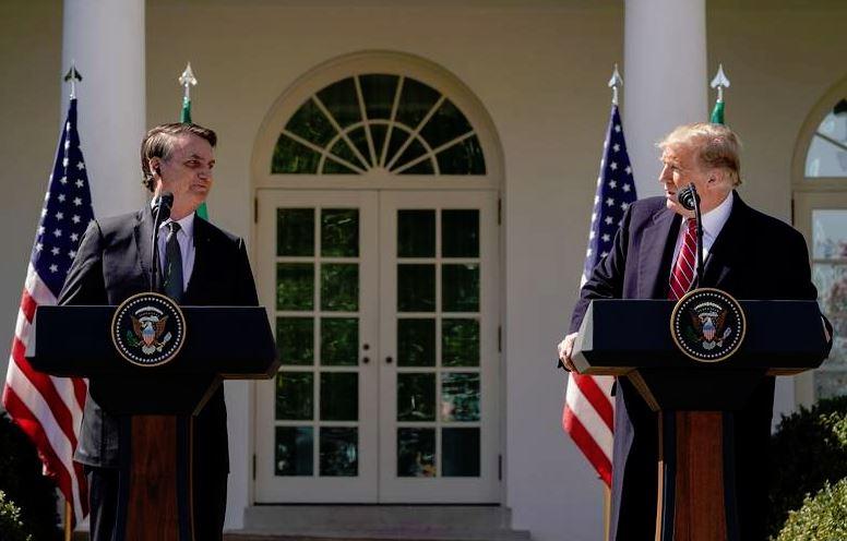 europe times european daily trending world news Trump bonds with Brazil's Bolsonaro during White House visit