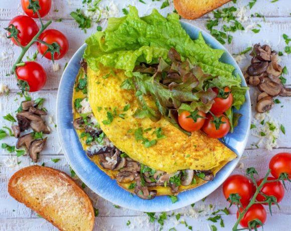 europe times european daily trending world news tasty food recipe Make some Fluffy Mushroom Omelette