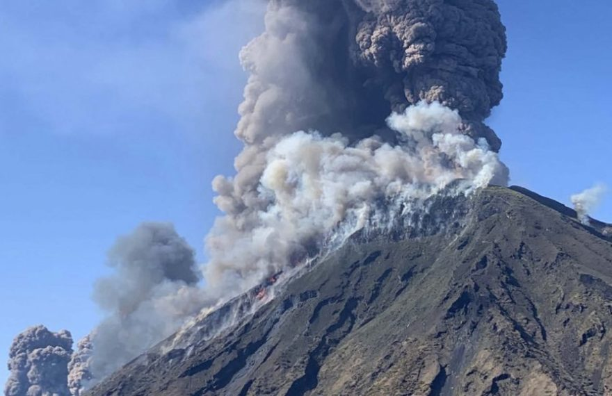 europe times european daily trending world news Volcano eruption at Stromboli One person killed